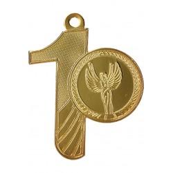 Medaille Allgemeine - Ziffern-Motiv / 1 Gold
