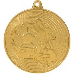 Medaille Fußball / Gold