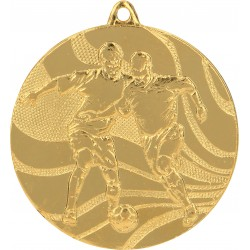 Medaille Fußball / Gold