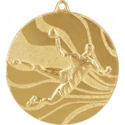 Medaille Handball-Motiv / Gold