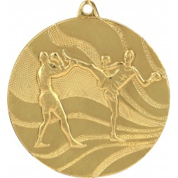 Medaille Kick-Boxing / Gold