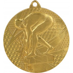 Medaille Schwimmen / Gold