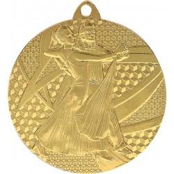 Medaille Tanz-Motiv / Gold