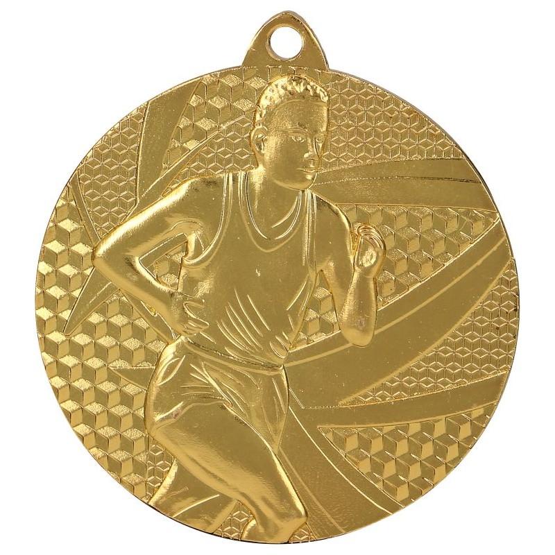 Medaille Laufen-Motiv / Gold