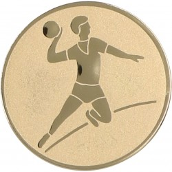 Aluminium Emblem/ Handball