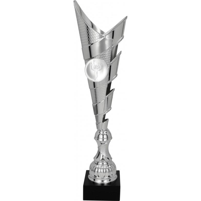 Kunststoff Pokal ohne Deckel / Silber