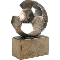 Resinfigur/ Metall,Holz-Fußball