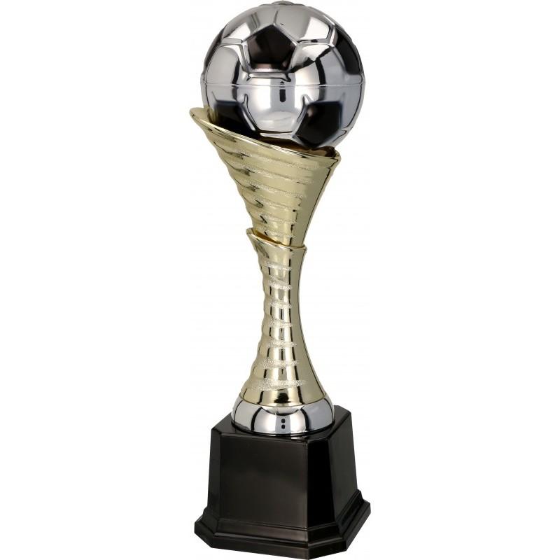 Fußball Pokal / Gold-Silber