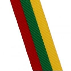 Medaillenband 11mm, 22mm / Gelb, Grün, Rot