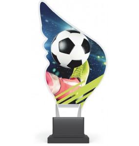 Acryl und Plexiglas Trophäe-Fußball