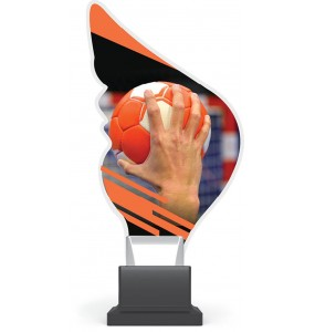 Acryl und Plexiglas Trophäe-Handball