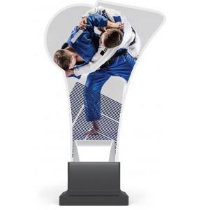 Acryl und Plexiglas Trophäe-Judo