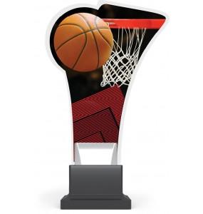 Acryl und Plexiglas Trophäe-Basketball