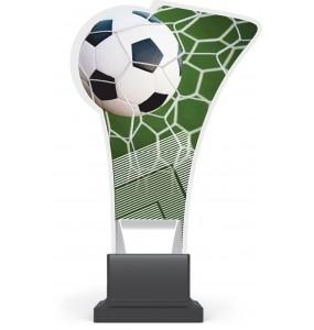 Acryl und Plexiglas Trophäe - Fußball