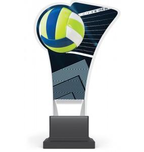 Acryl und Plexiglas Trophäe-Volleyball