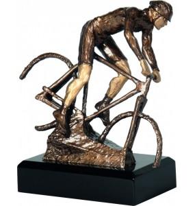 Resinfigur / Radfahrer