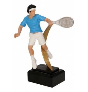 Resinfigur / Tennis