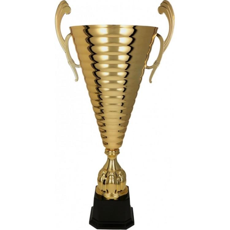 Pokal mit moderner Schale / Gold 1049/G