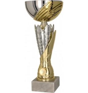 Pokal ohne Deckel / Silber, Gold 4167
