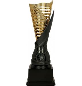 Pokal ohne Deckel / Gold, Schwarz 9087
