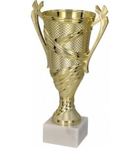 Pokal ohne Deckel / Gold 8264