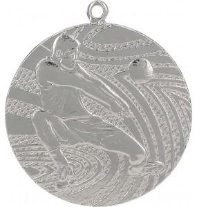 Medaillen, Volleyball-Motiv-Silber