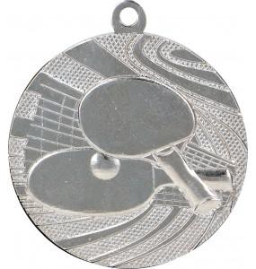 Medaillen, Tischtennis-Motiv-Silber