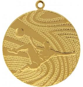 Medaillen, Fußball-Motiv-Gold