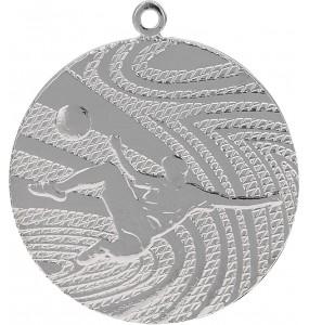 Medaillen, Fußball-Motiv-Silber
