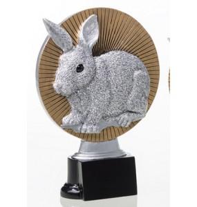 Resinfigur/ Kaninchenfigur