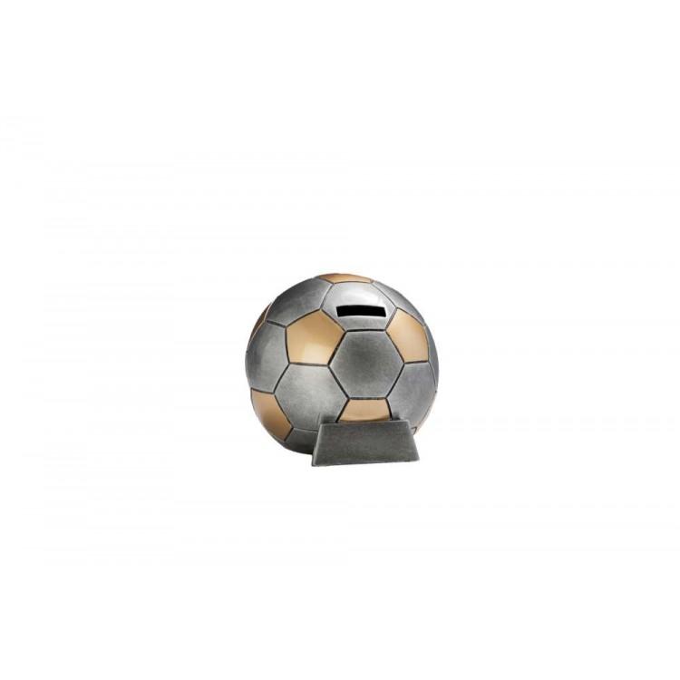Resinfigur / Fußballspardose