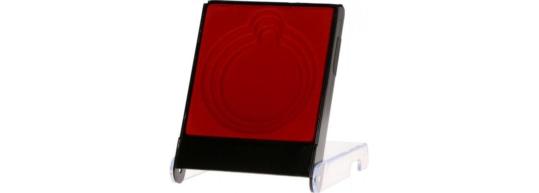 Medaillen-Etui-Rot