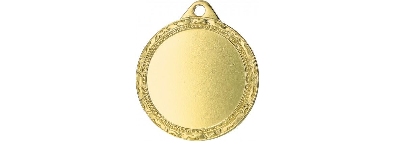 Medaillen mit 50mm Emblem