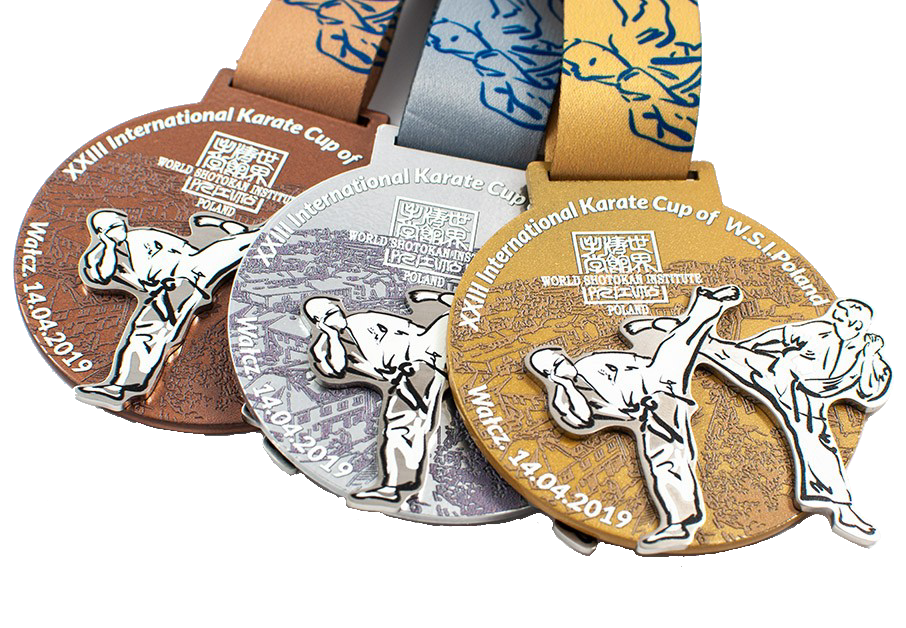 Medaillen auf Bestellung - Karate