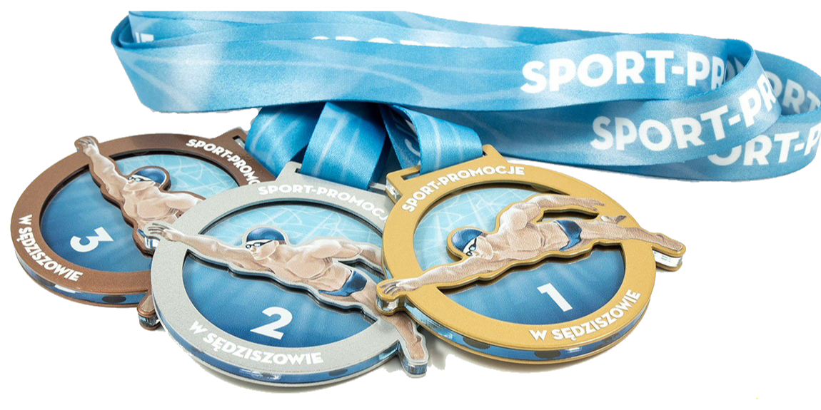 Medaillen auf Bestellung - Schwimmen